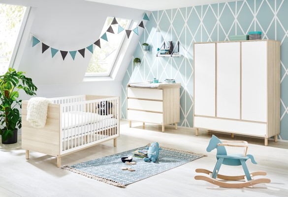 Chambre bébé bien rangée