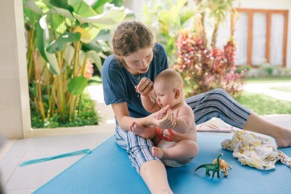 Pergola : la solution pour profiter de la terrasse avec un bébé